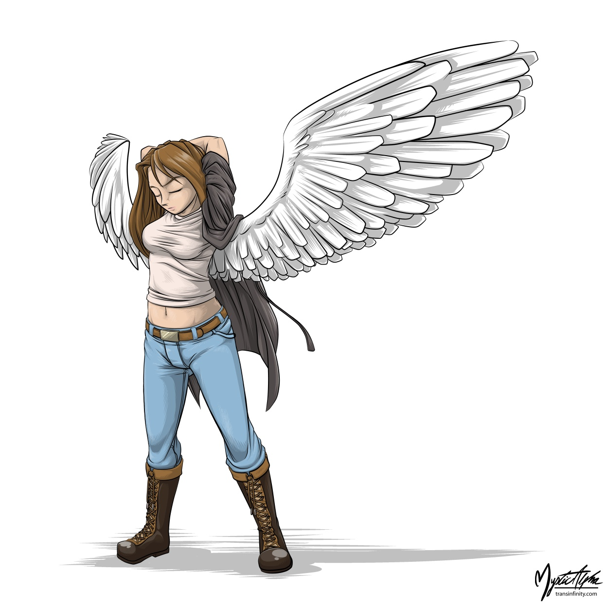 Winged Girl